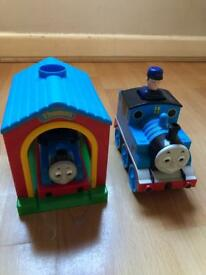 Thomas and Friends - TOMY Push and Go Thomas and Talking Thomas Train