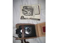 Gevabox 6x9 1950's vintage camera