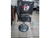 Barber Chair Salon Beauty Spa Styling Hairdressing Threading, Used