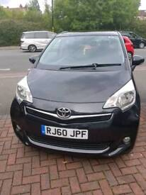Toyota Verso S low mileage with dealer service history 5 seater & reverse camera