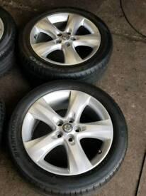Vauxhall Astra j alloy wheels 17 inch
