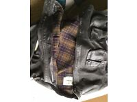 Leather Barbour International Motorbike Jacket - Limited Edition - Discontinued