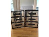 Chest of Drawers - Vintage - Silver - RRP £219