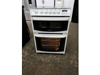 Cannon 60cm Full Gas Double Oven cooker in good working order £130