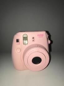 Pink Fujifilm Instax Mini 8 Polaroid Camera