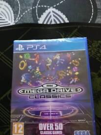 Mega drive Classics Ps4
