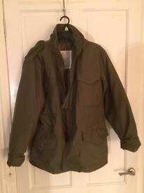 Army jacket size small