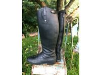 Mark Todd long riding boots size 10