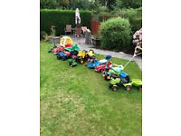 15 Children Outdoor Toys, Bikes, Scooters and Ride On's