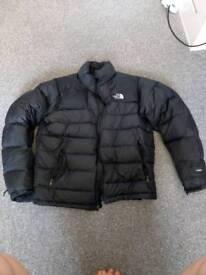 North face mens 800 down jacket coat large