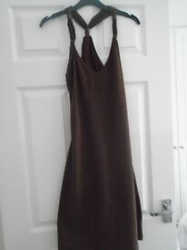 New without tags Ladies brown beach dress 10