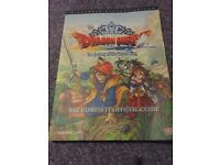 PS2 Dragon Quest Game Guide Book