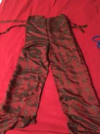 Size S petite wrap around trousers