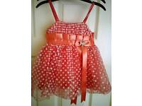 3-6 mth dress , hand made in spain .