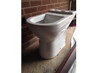 Toilet pan. As new