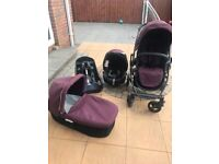 Graco pram/pushchair travel system