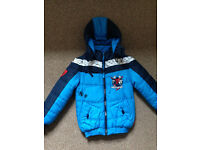 Boys Spiderman Winter Jacket /Coat 7-8 yrs old mint con