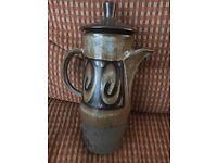 Iden Pottery Coffee Pot
