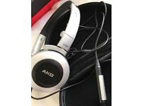 AKG Headphones with AKG carry case
