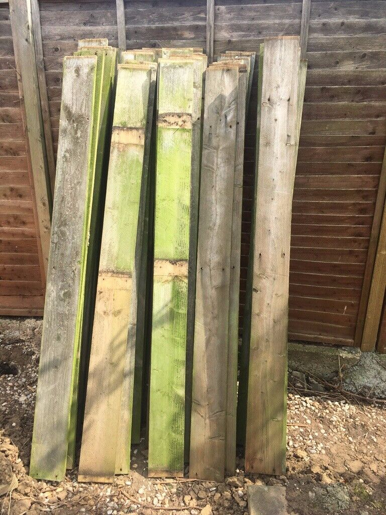Used Fence Boards In Middlesbrough North Yorkshire