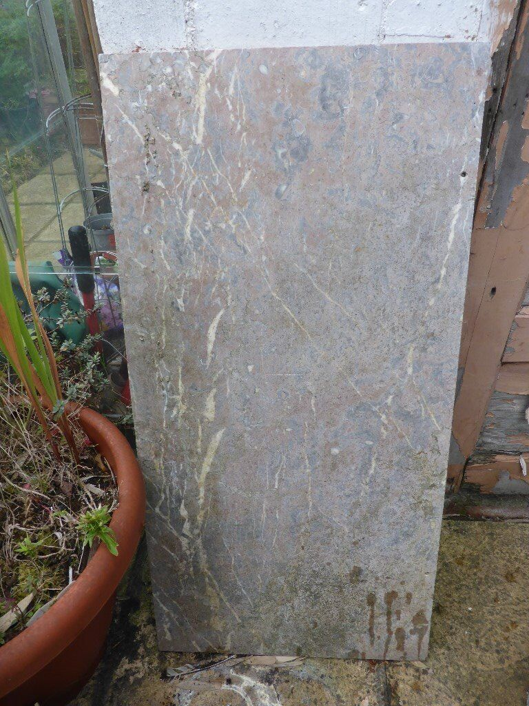 Marble for an antique washstand or table
