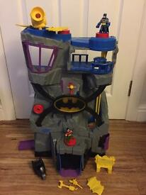 Imaginext batcave with batman and robin