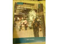 Brand New Clarkson & Keating's Criminal Law: by Heather Keating, (8th edition)