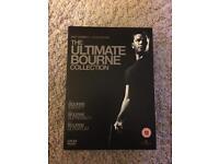 The Bourne Collection DVD Boxset - identity, supremacy & ultimatum