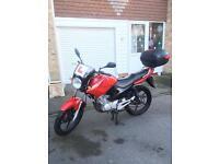 Yamaha ybr 125 for sale not cbf,yzf,cbr,rs