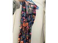 Quiz colourful flower jumpsuit Size 10