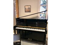 FREE DELIVERY! 1999 Sternberger M-113 Black Upright Piano - 2 Yr Warranty & Matching Stool