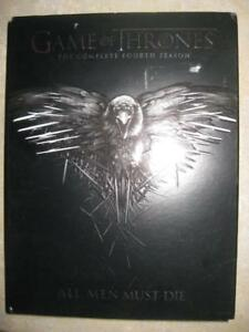 Game Of Thrones: The Complete Fourth Season (DVD) Starring Peter Dinklage, Lena Headey, Emilia Clarke, Kit Harington