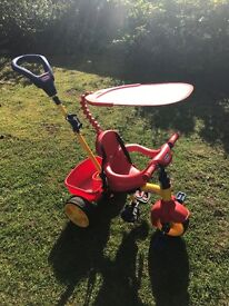 Little Tikes 3 stage Trike with parent handle