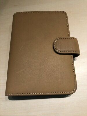 Vintage Coach Leather Ring Organizer Contact Address Book Agenda Planner 2007
