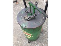 BP Vintage oil container - drum