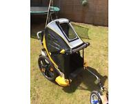 Bellelli B-Taxi Twin Child Bike Trailer in excellent condition - barely used.