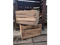 Vintage Wooden crates - great for display or storage
