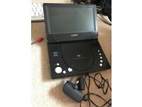 Technika portable dvd player and charger