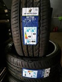225 35 19 sportrack tyres ( New)