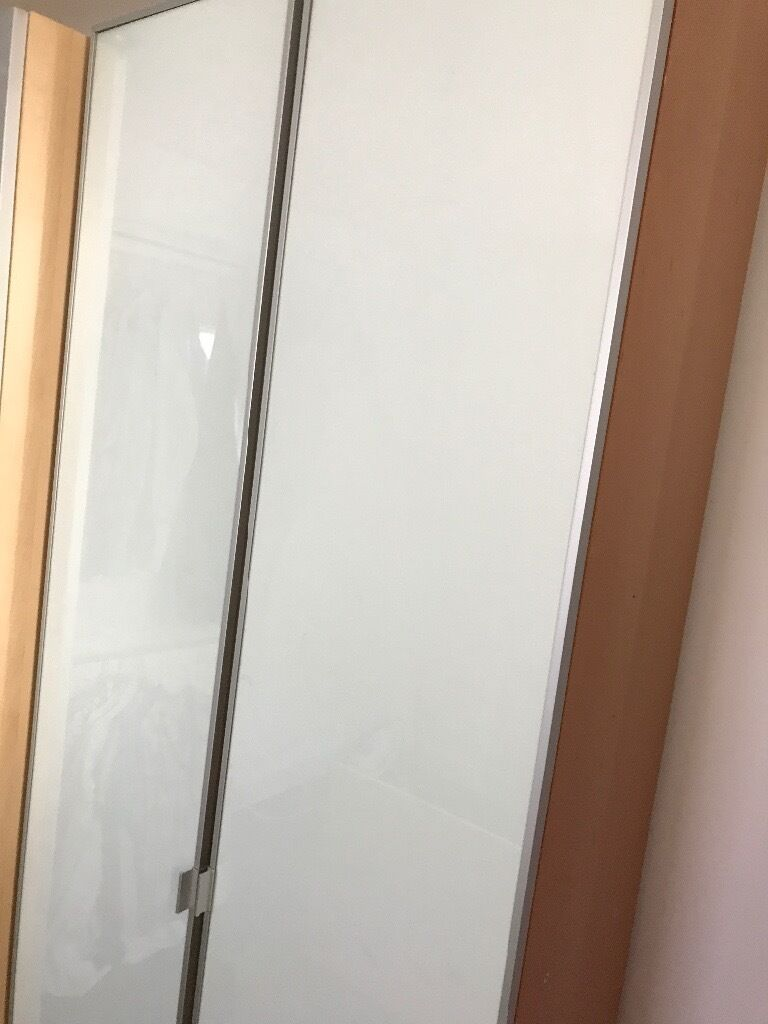 Ikea Billy Bookcase 80x200x40 With Glass Doors 30 In