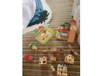 Sylvanians nursery pieces