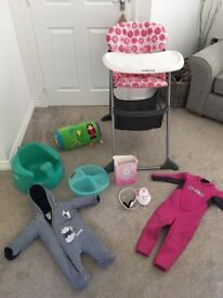 Baby & toddler items please see pics