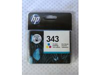 HP 343 Tri-Colour Cartridge