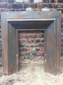 Cast iron fireplace - £10