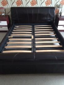 BROWN BED LOVELY CONDITION