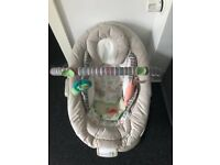 Baby bouncer from clean pet free home