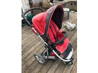 Britax buggy with car seat (collection only)