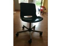 Green IKEA office chair