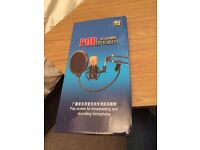 Microphone pop filter for sale