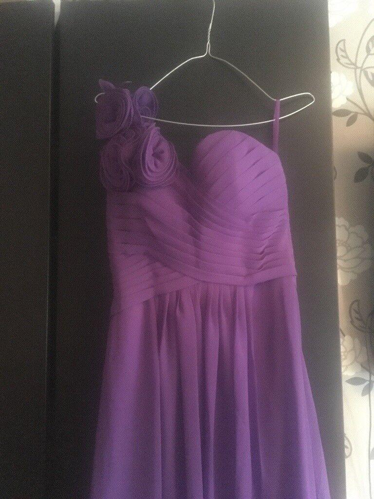 Cadbury purple bridesmaid dress | in Atherton, Manchester | Gumtree